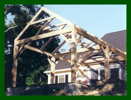 Timber Frame Addition