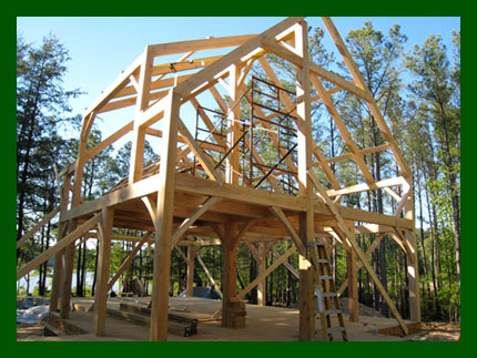Green mountain post beam timber frame photo gallery for Timber frame screened porch