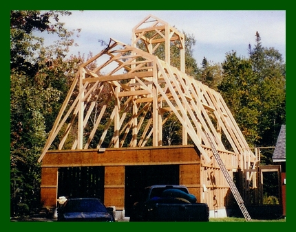 Post & Beam Gambrel Addition with Cupola