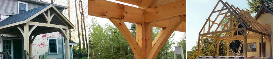 Green Mountain Post and Beam Timber Frame Photo Slide Show